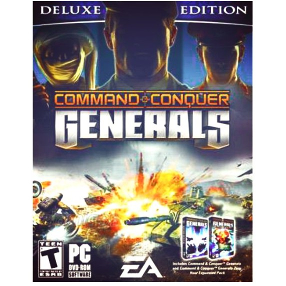 COMMAND & CONQUER: GENERALS DELUXE EDITION [PC DIGITAL DOWNLOAD]