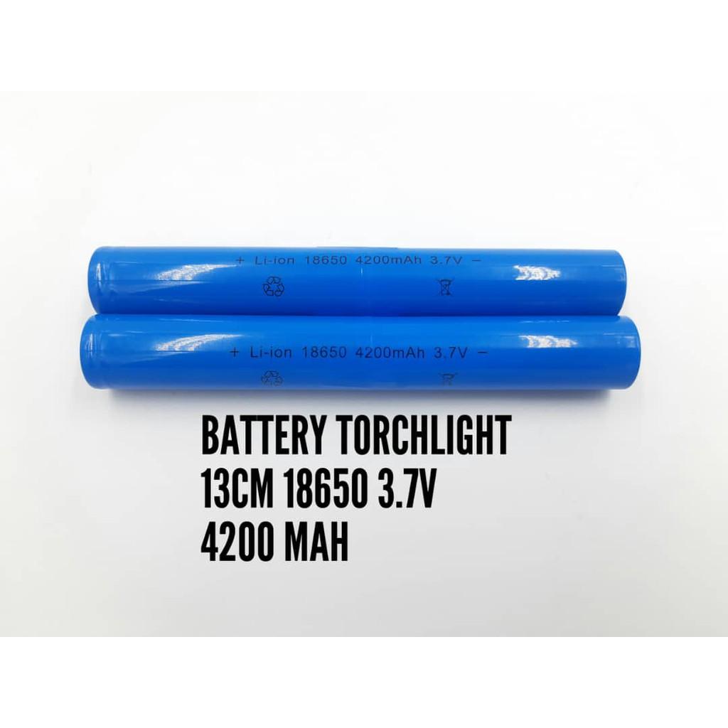 READY STOCK 18650 Battery 4200mAh 3.7V Rechargeable Batteries Li-ion Lithium Flashlight torchlight.