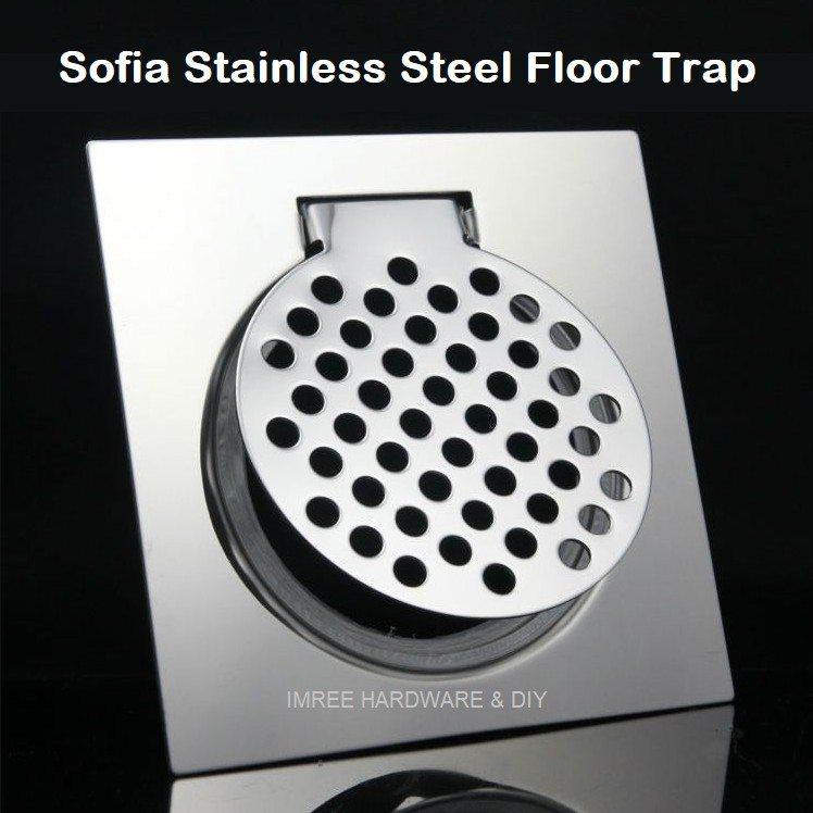 Sofia Stainless Steel Floor Trap