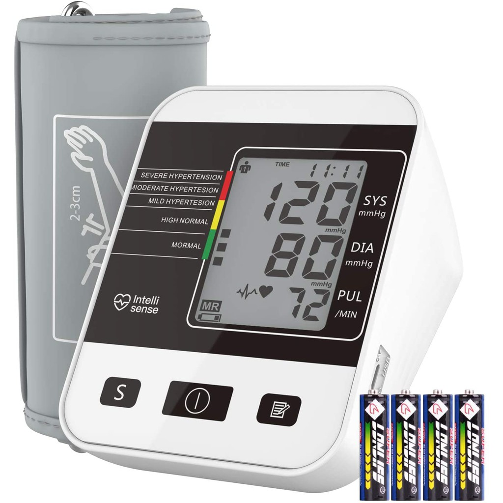 Arm Style Blood Pressure Monitor for Home Use with  LCD Display BSX556
