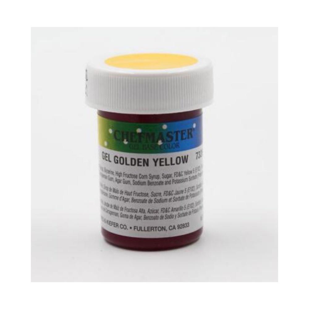 CHEFMASTER, Paste Color, Golden Yellow, 1oz