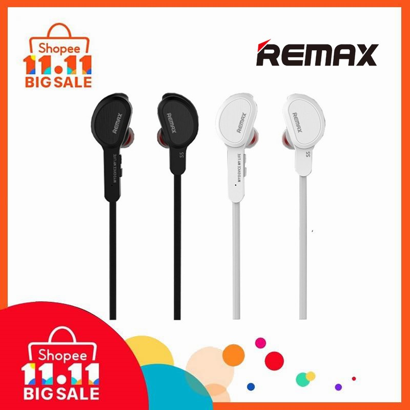 bd2218c3864 100% Original Remax S5 Sport Bluetooth Wireless In-Ear Headset With Mic |  Shopee Malaysia