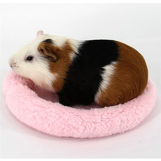 Pet Soft Fleece Mat Hamster Cage Guinea Pig Bed Sleeping
