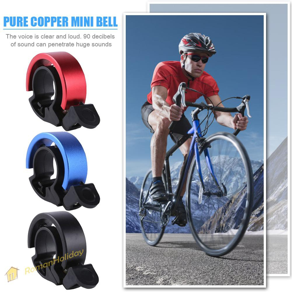 MTB Road Bike Aluminum Alloy Horn Bicycle Handlebar Sound Alarm Ring Bell