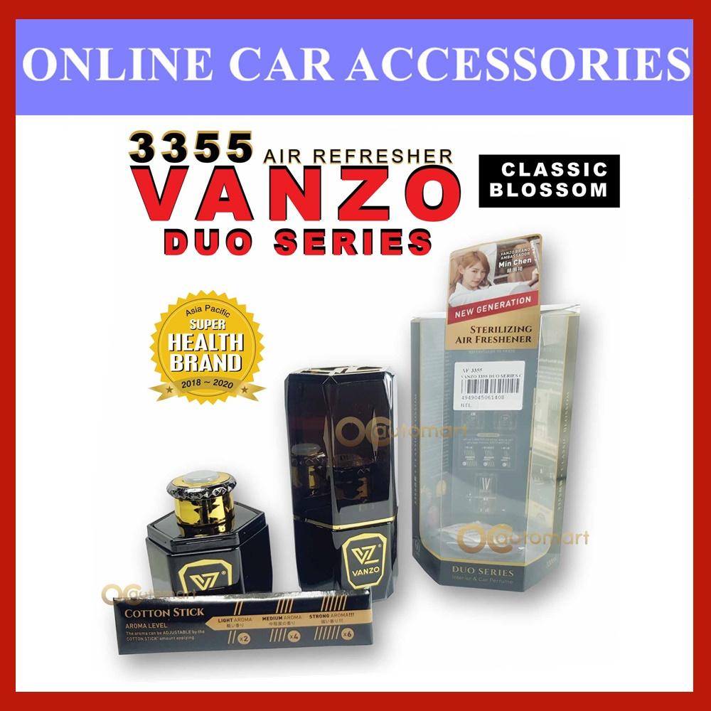 VANZO Duo Series Classic Blossom / English Pear & Freesia New Generation Sterilizing Air Freshener