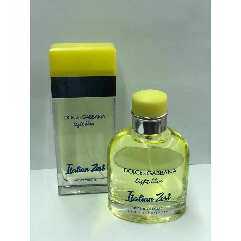 93a352f5 Dolce & Gabbana Light blue Italian zest pour homme 125ml | Shopee Malaysia