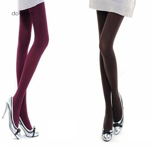 e9dec9957 Opaque Long Tights Nylon Footed Stockings