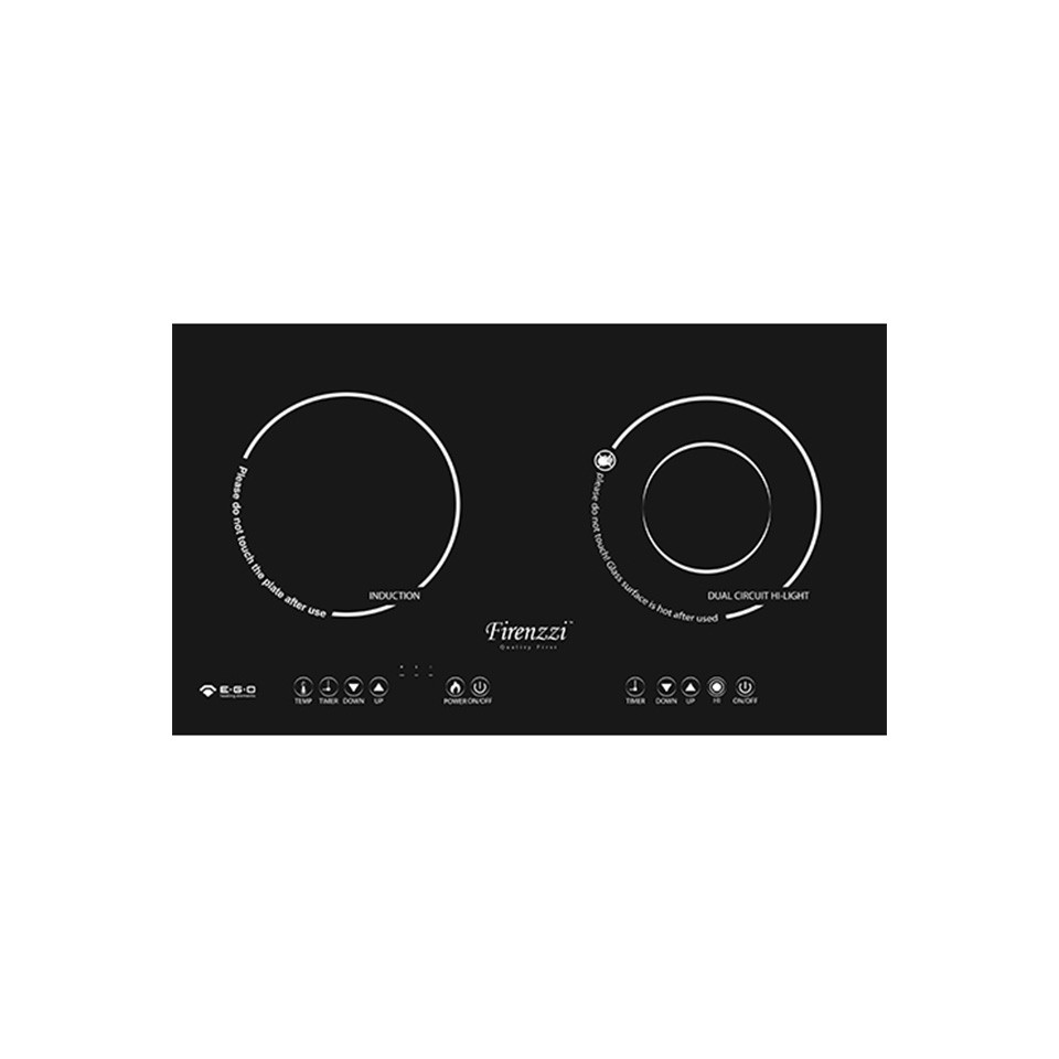 Firenzzi FRD-2088 XP Induction & Ceramic Cooker
