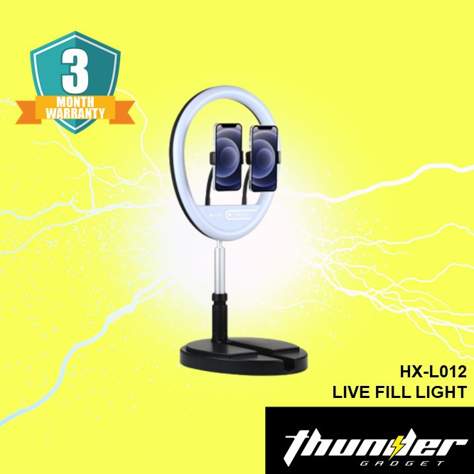 HX-L012 LIVE FILL LIGHT FOLDABLE/ADJUSTABLE WITH REMOTE CONTROL