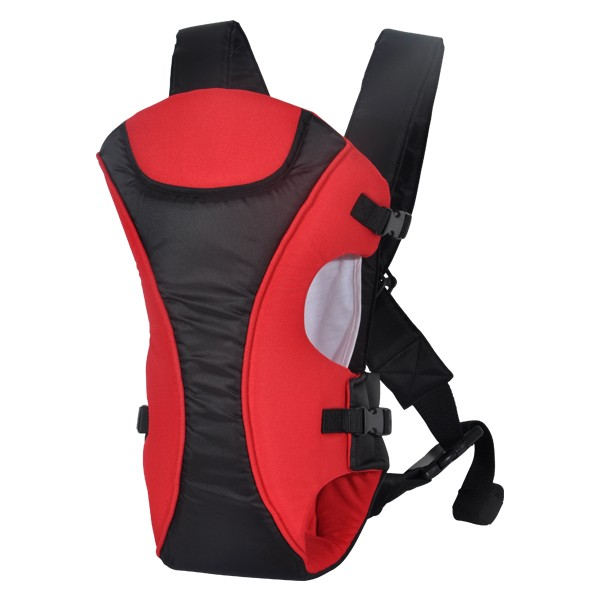 Mylilangelz KA0142 Bebear Color Block 3-In-1 Baby Carrier (Red) (READY STOCK)