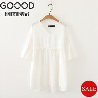 30fd68e2fbb6a Women T-shirt Plus Size Short Sleeve cotton Elegant Femme Muslimah ...