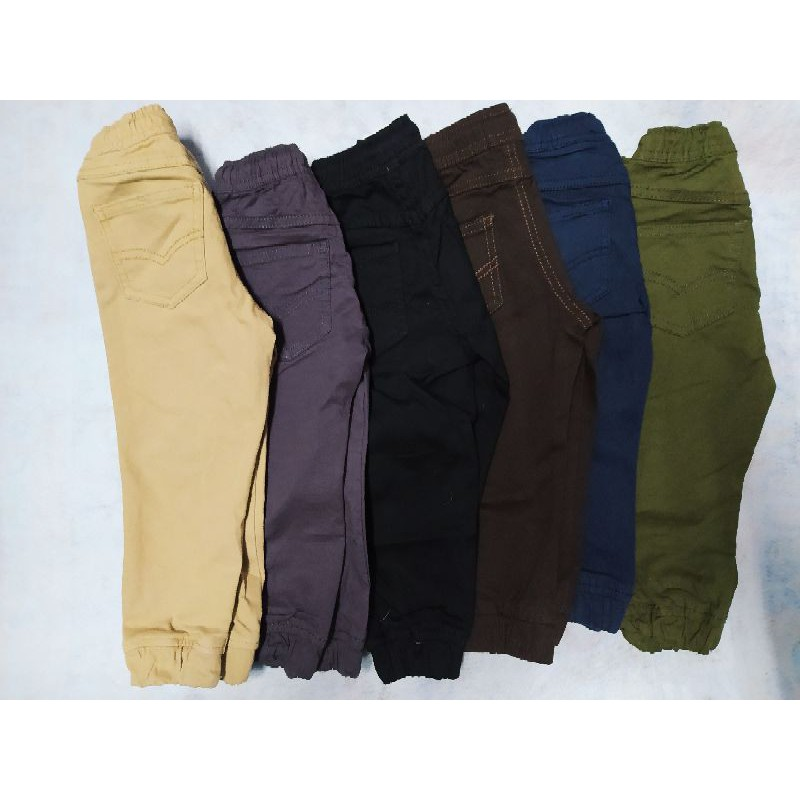 Jogger Pants Kids Slim Cekak Cantik 100% cotton Kids khakis <NHSTORE
