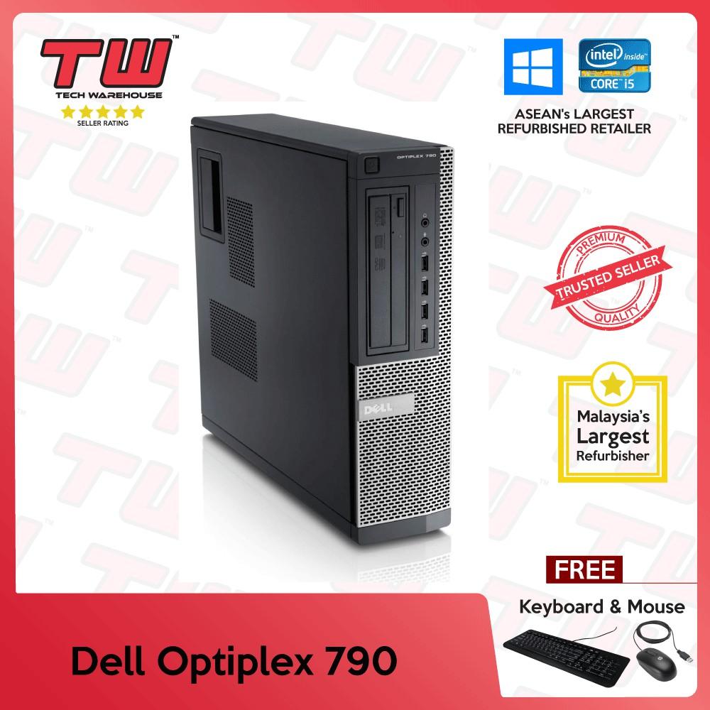 Dell Optiplex 790 Core i5 (SFF) PC + Windows OS (Factory Refurbished)