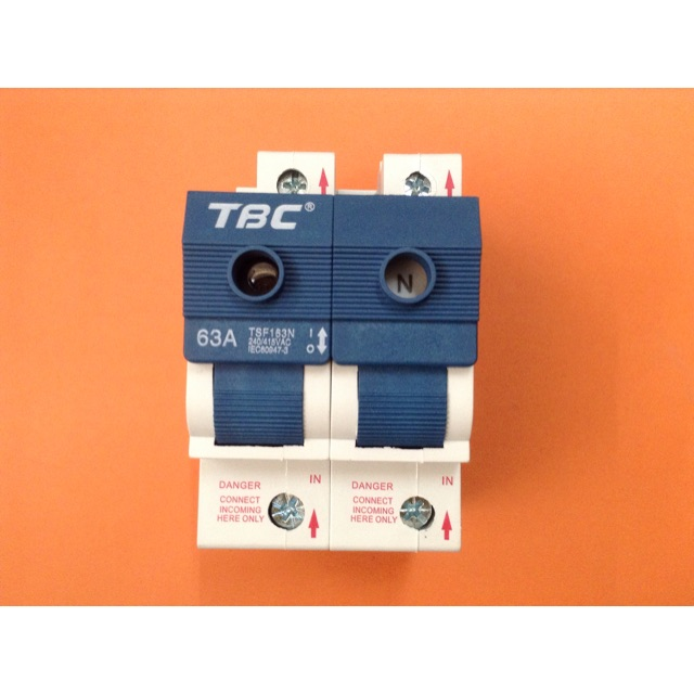 63A Switch Fuse 1P+N