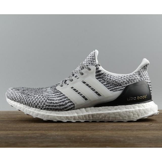 779bcd7c03b67 original adidas ultra boost 3.0 black men Breathable running shoes free  shipping
