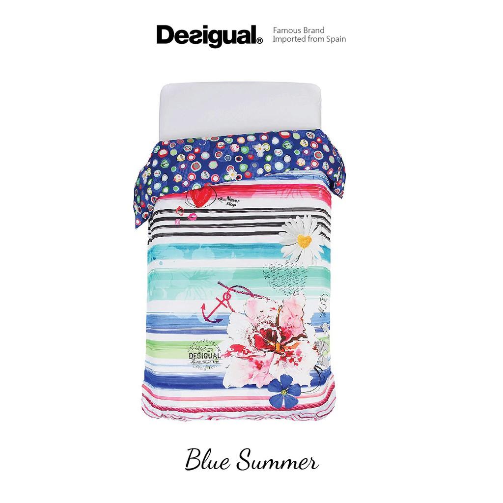 Desigual - Blue Summer Duvet Cover Single 160x210cm