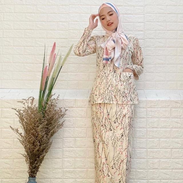 Baju Kurung Kedah Kain Cotton Shopee Malaysia