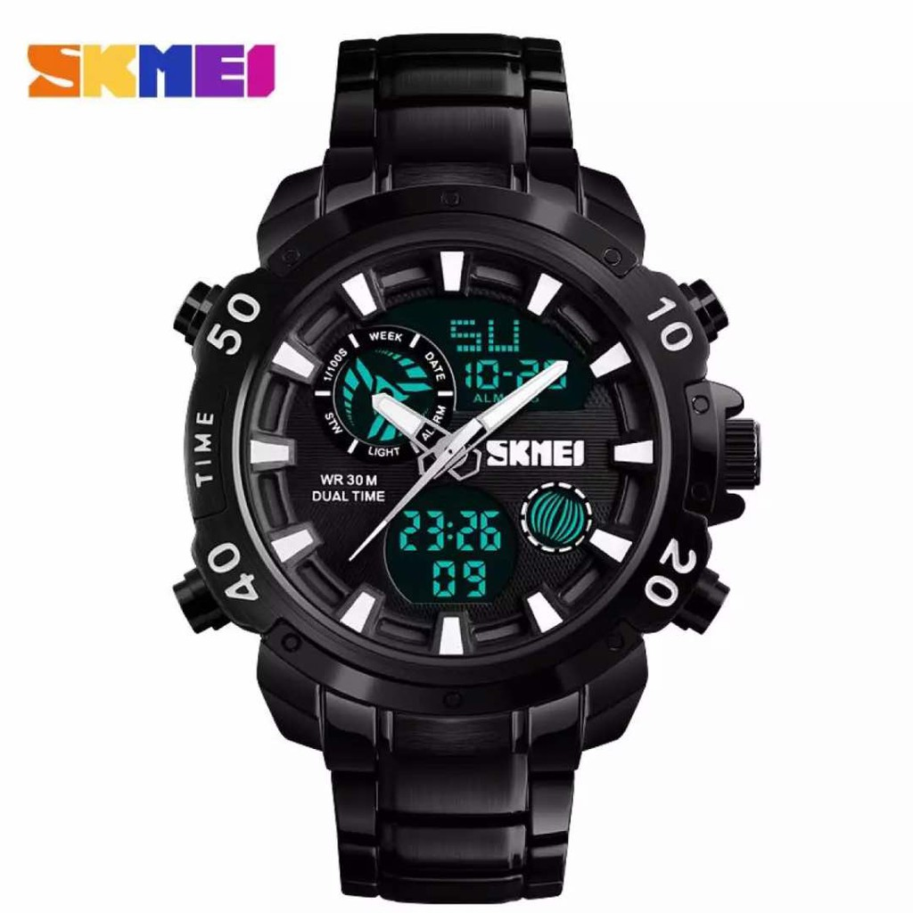 [LOCAL SELLER] SKMEI 1306 Dual Time Fashion Sport Watch