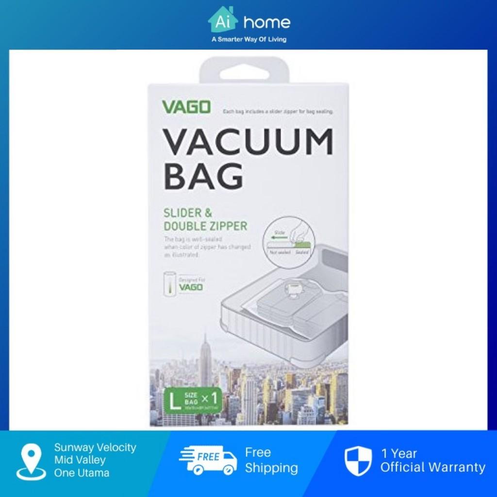 Vago Vacuum Bag [ Smart Travel ] Large Size [ 70cm x 100cm ] Medium Size [ 50cm x 60cm ] [ Aihome ]