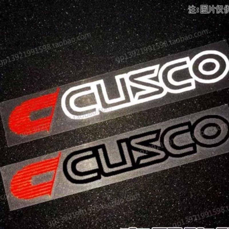 Car Sticker Cusco Sticker Spoon Sport Sticker Car Accessories Sticker