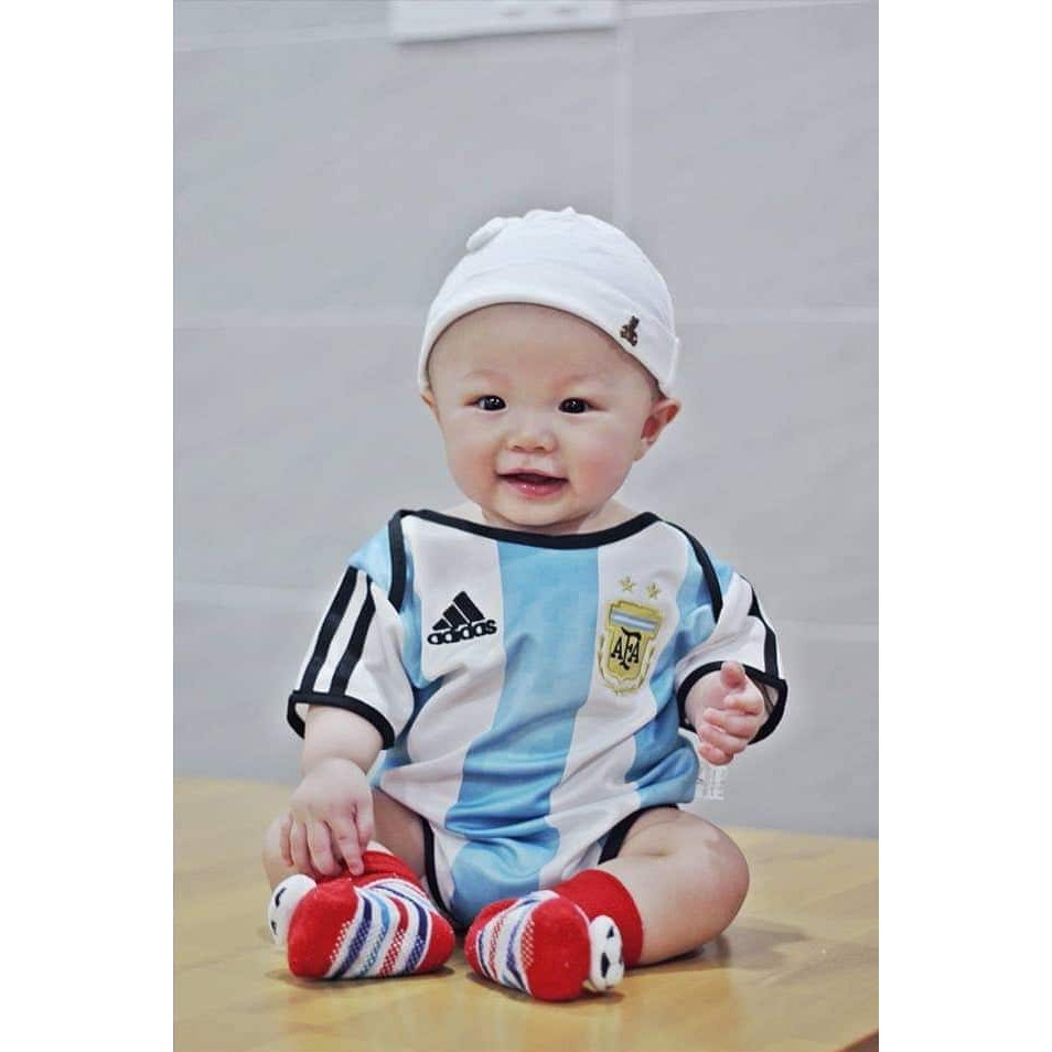 Argentina Infant Home World Cup 2018 CLIMALITE Fans Jersey