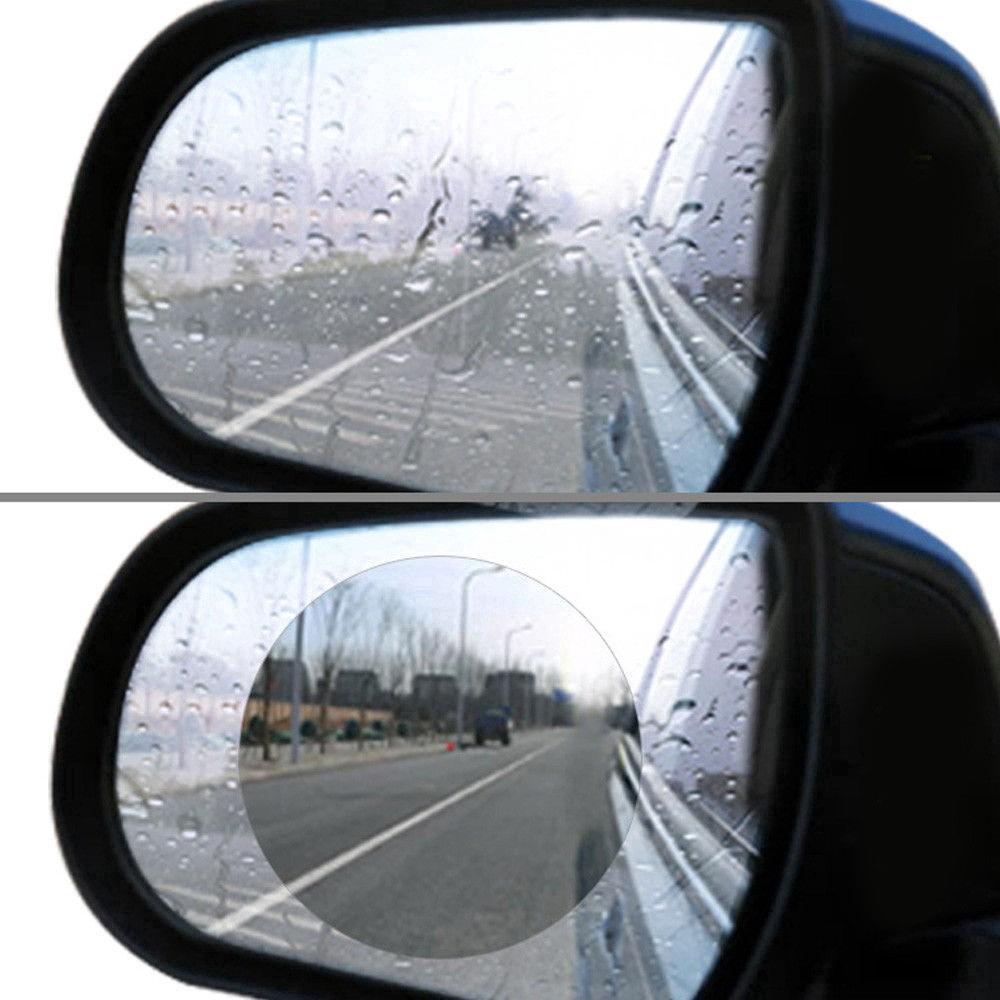 175x200mm Everpert 2PCs Car Rearview Mirror Film Waterproof Anti-Fog Rain-Proof Film Side Window Film