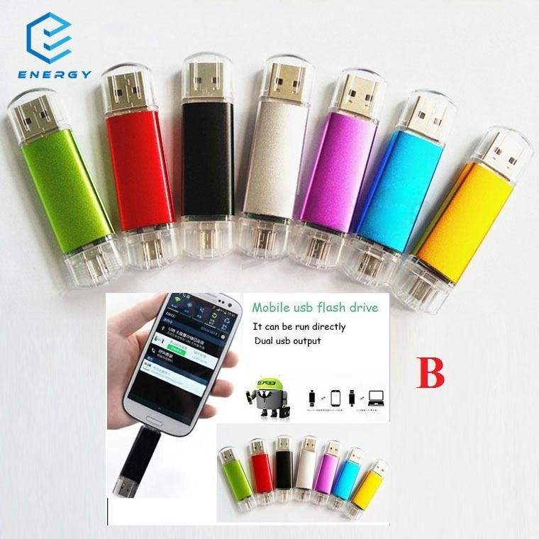 EGY 16GB Micro USB 2 0 Flash Pen Memory U Disk for OTG Smart Android Tablet  PC