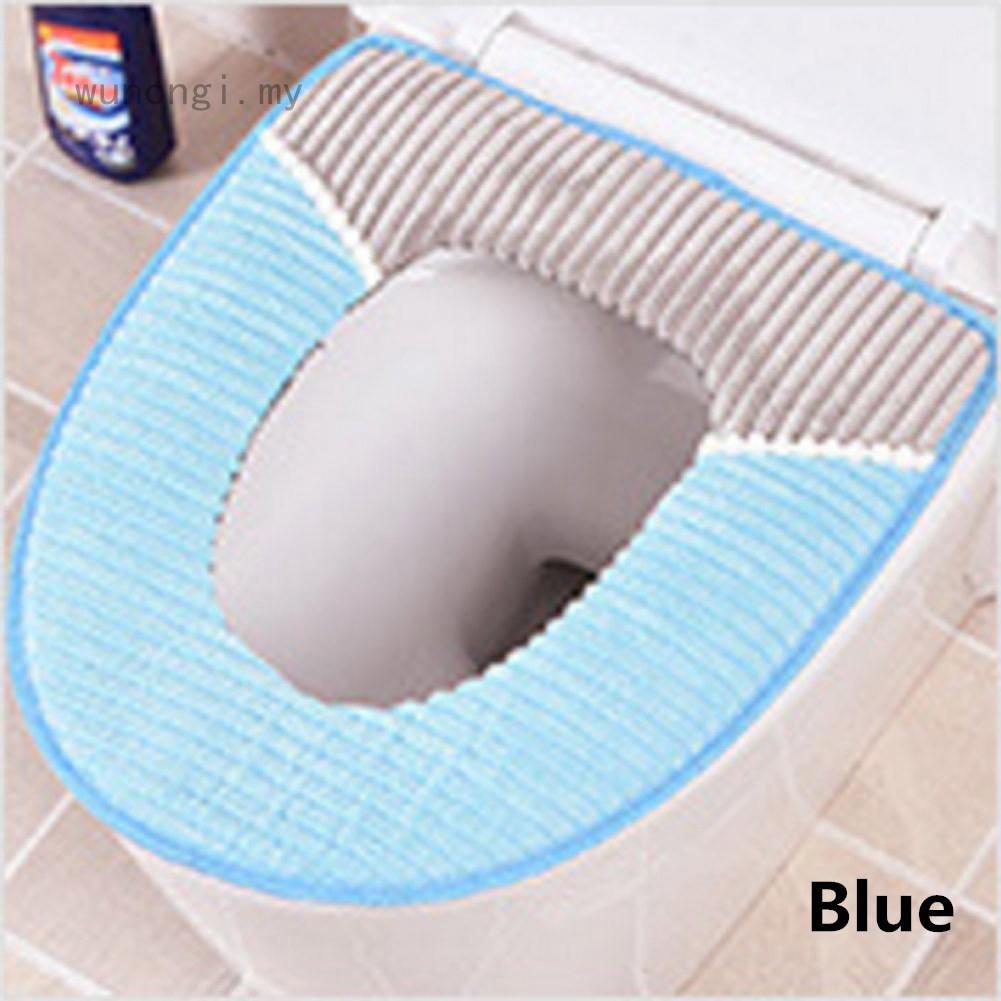 Pan Cushion Toilet Seat Cover Bathroom Protector Warmer Closestool Accessories