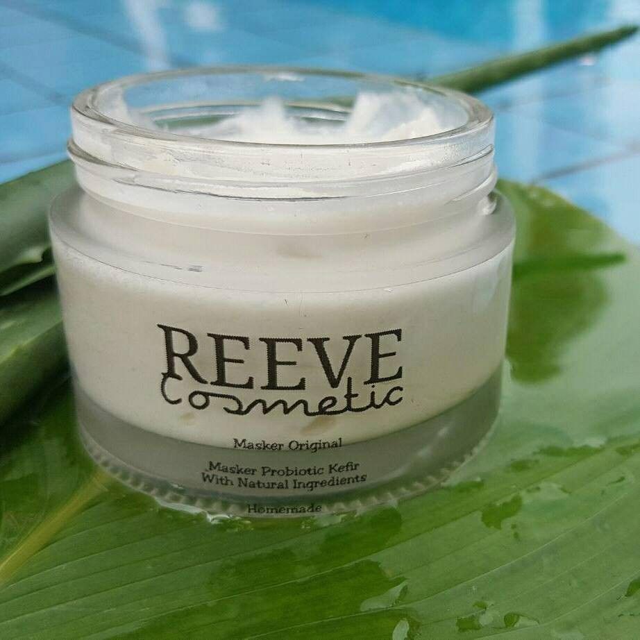 Kefir Mask By Reeve Cosmetics Shopee Malaysia Black