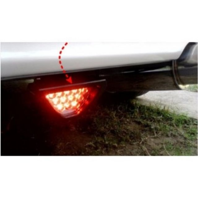 1X F1 Style Red 12LED Car Rear Tail High//Low Third Brake Stop Safety Lamp Light