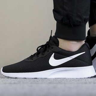Acelerar Generoso Sí misma  Nike men's black and white sports shoes lightweight breathable casual shoes  | Shopee Malaysia