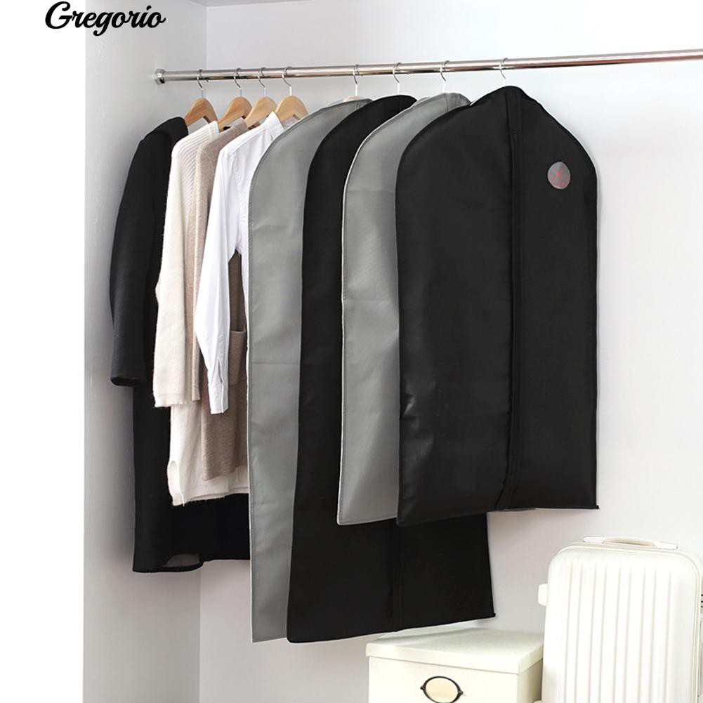Gr Clothes Garment Suit Dress Dust Cover Travel Coat Hanging Storage Bag Protector Sho Malaysia