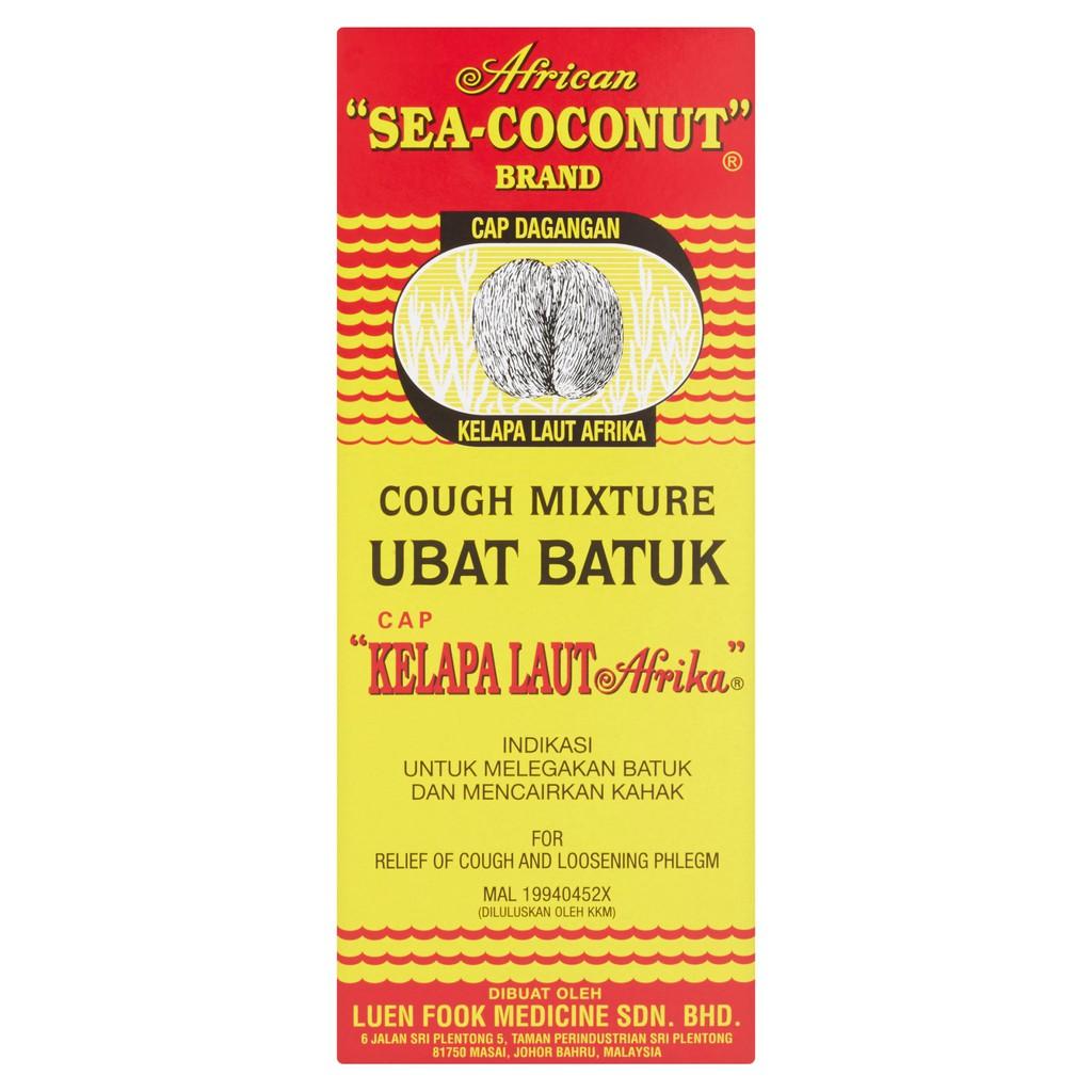 Cap Kelapa Laut Cough Relief Adult (177ml)