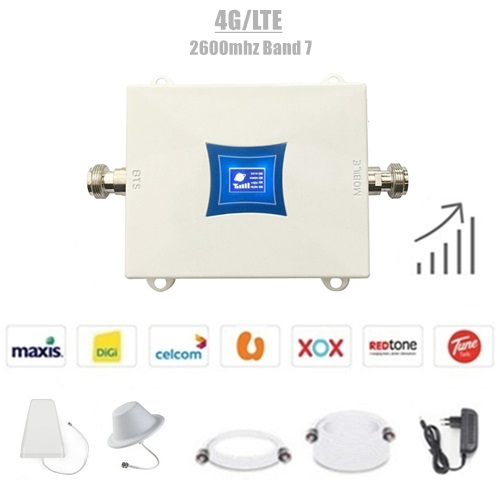 4G/LTE 2600Mhz Band 7 Mini Mobile Signal Booster Repeater