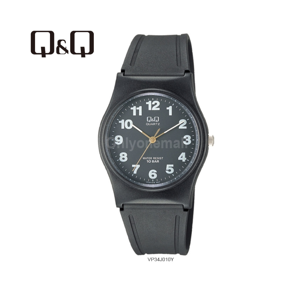 Q&Q VP34J010Y Ladies 33mm Casual Analogue Watch 100m Water Resistance
