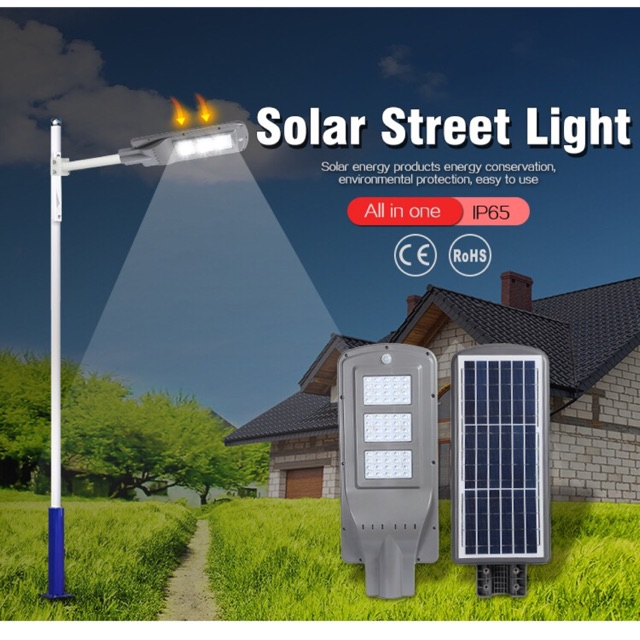 Solar Street Light 60 Watt Sho