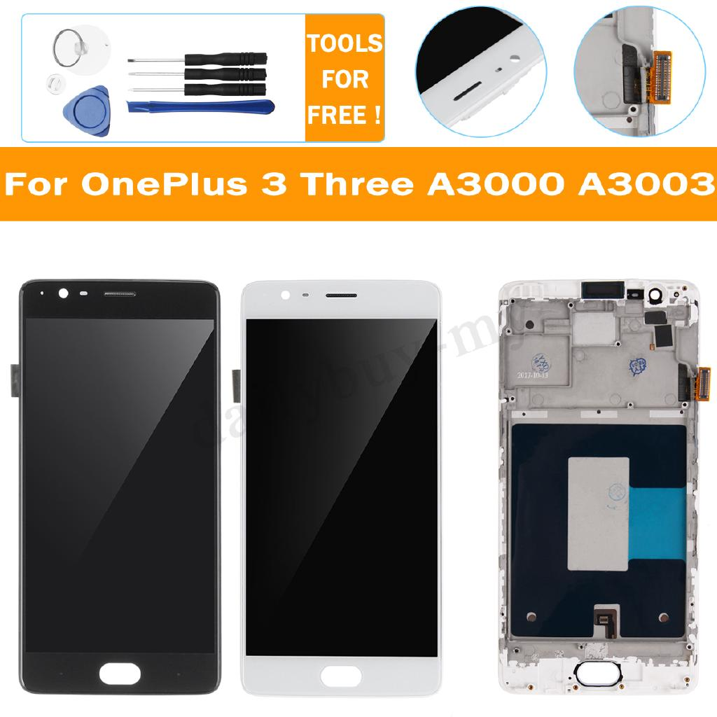 For OnePlus 3T A3010 LCD Display Touch Screen Digitizer Assembly