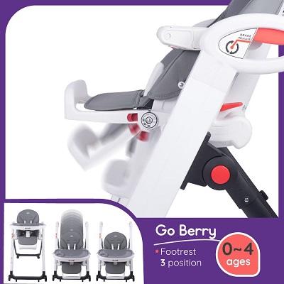 Quinton: Go Berry High Chair - BEIGE