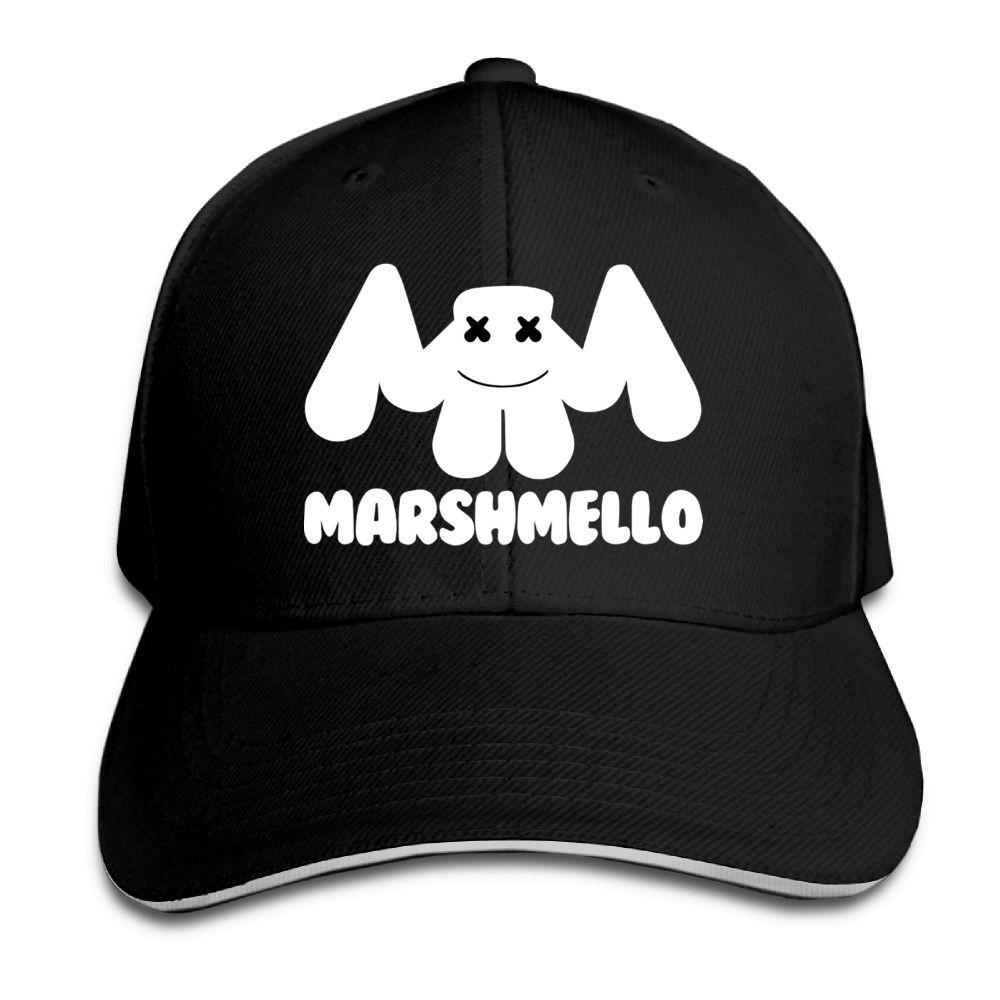 Fun Project Marshmello 2 Baseball Cap Snapback Hats Peaked Cap ... e2cc383875