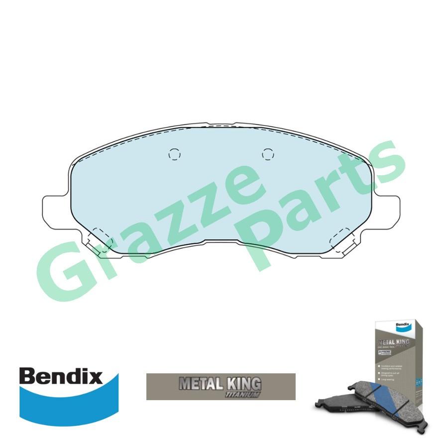 Bendix Metal King Brake Pad Front DB1441 - Proton Inspira Mit Lancer ASX Airtrek