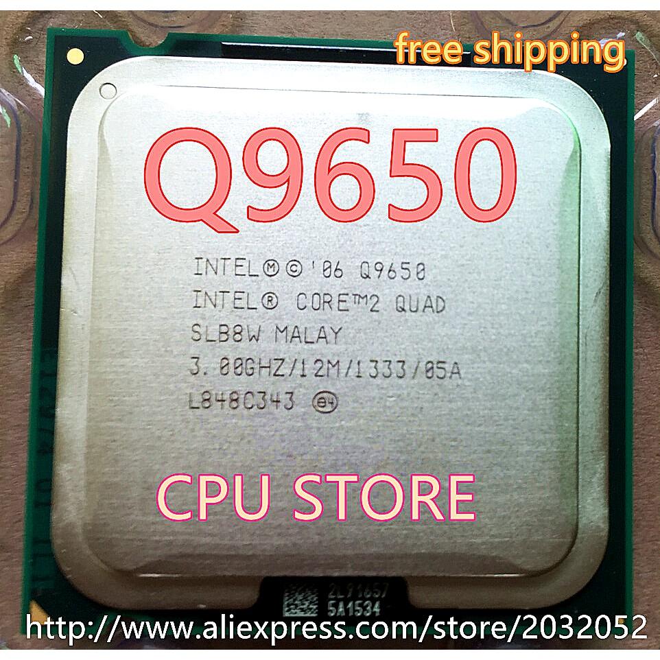 Intel Core 2 Quad Q9650 12m Cache 300 Ghz 1333 Mhz Fsb Socket 775 Procesor Q8200 Soket Cpu Shopee Malaysia