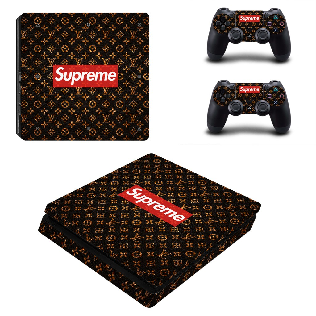 For Supreme PS4 Slim Skin Sticker Decal Vinyl For Playstation 4