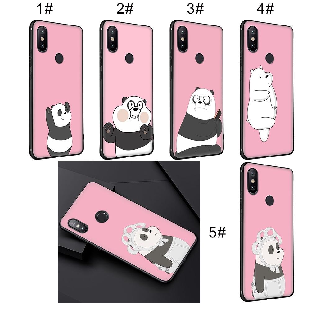 XiaoMi Redmi 6A 6 5 5A 4X 4A Pro Plus Soft Case We Bare Bears Anime