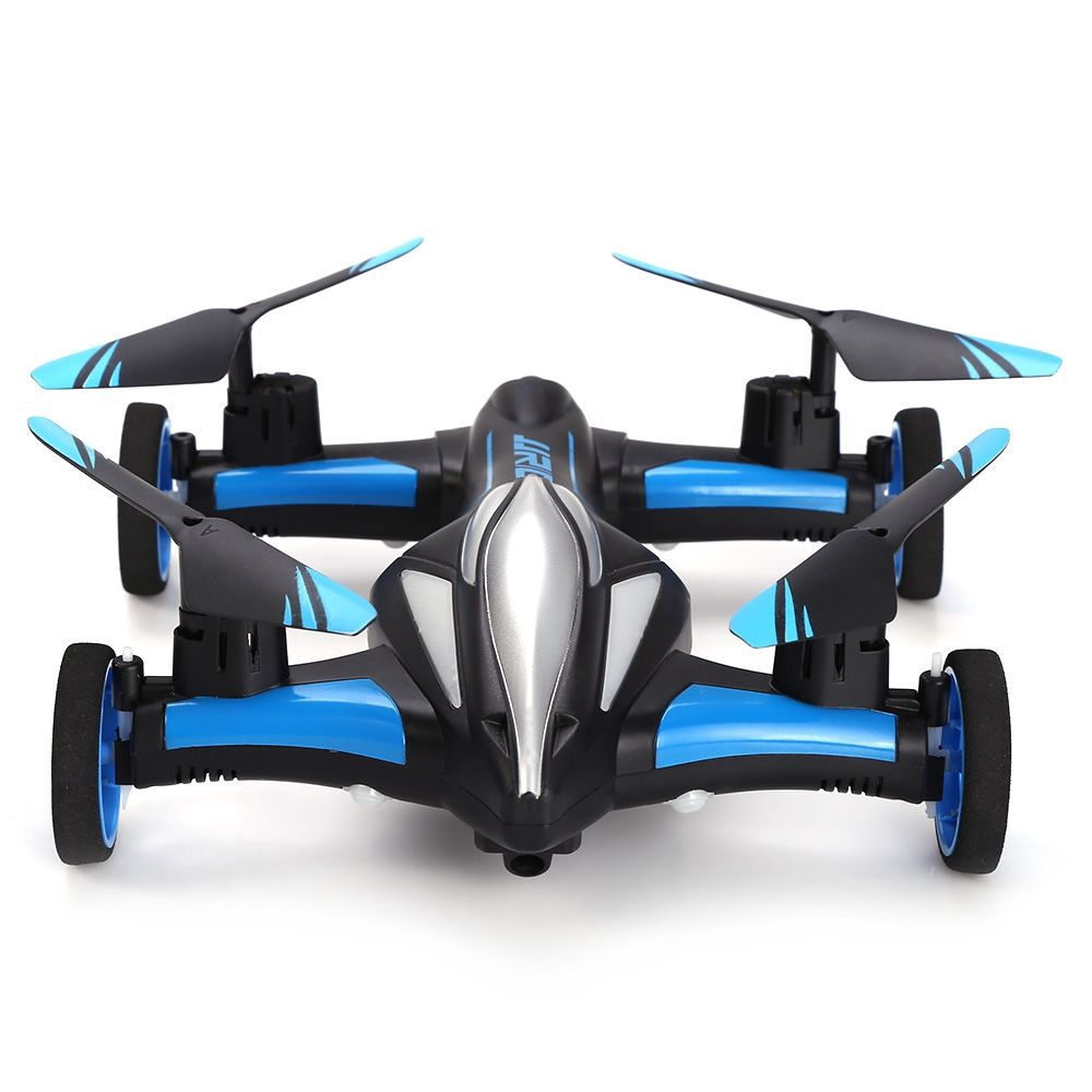 JJRC H23 2.4G RC QUADCOPTER LAND / SKY 2 IN 1 (BLUE AND BLACK)