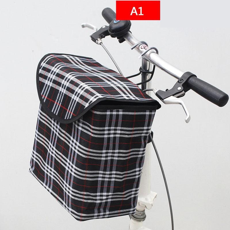 epg ตะกร้าผ้าใบติดจักรยานพร้อ