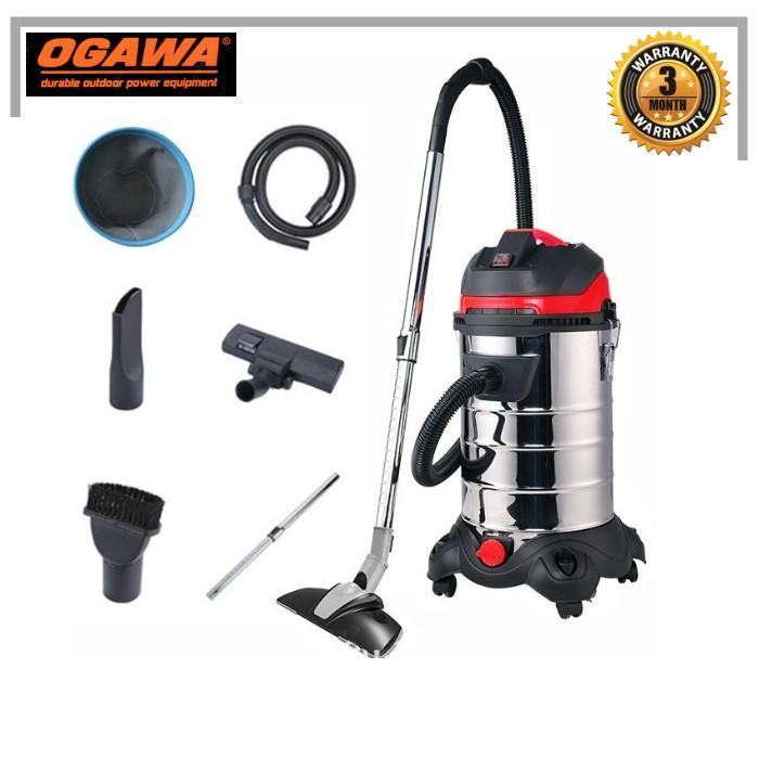 OGAWA OVC30L 1600W 30L WET AND DRY VACUUM CLEANER
