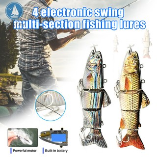 Original New 2019 Robotic Swimming Lure Electric Wobblers For Fishing Crankbait