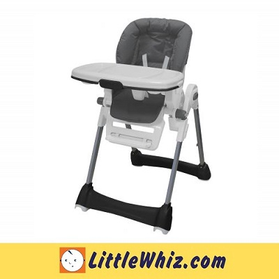 Bubbles: High Chair - Charcoal Grey