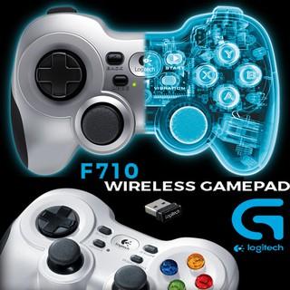 Official Logitech Wireless Gamepad F710 Dual Vibration Feedback
