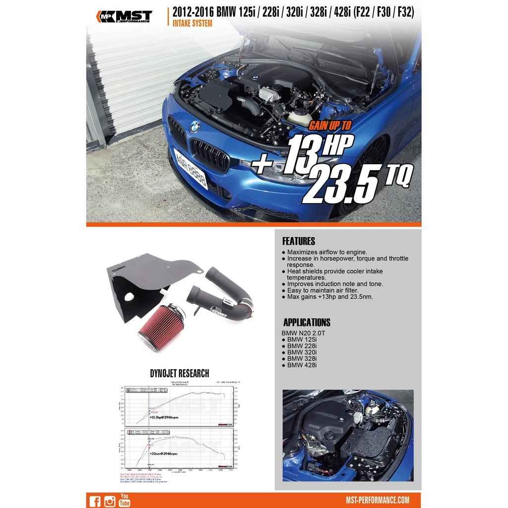 2012 Bmw F22 F30 F32 125i 228i 320i 328i Mst Cold Air Intake System Bw N2001 Shopee Malaysia